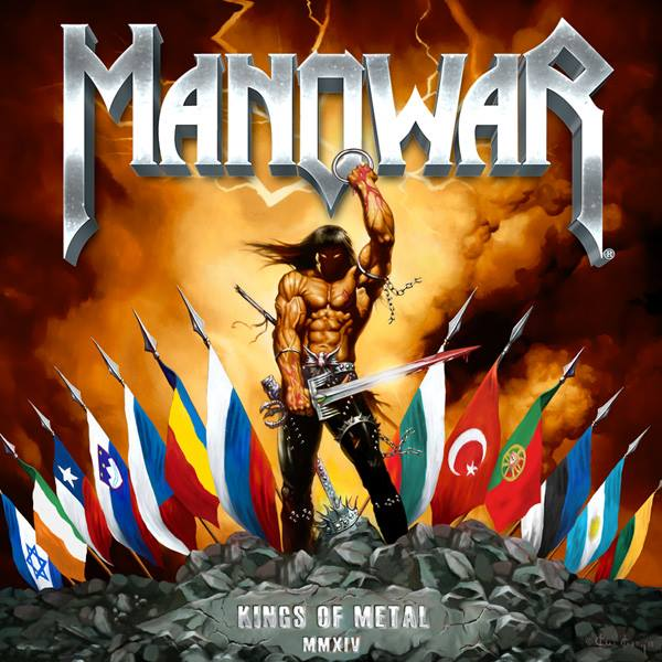 MANOWAR Kings of Metal 2014 MMXIV