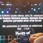 Manowar esiintyi Helsingin Suvilahdessa