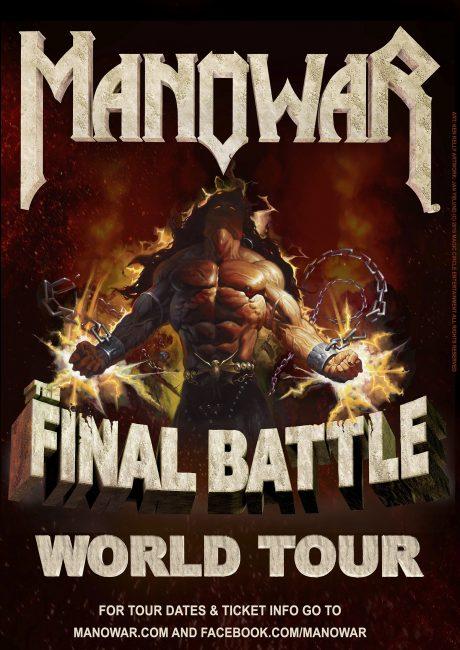 MANOWAR Final Battle -jäähyväiskiertue 2017/2018
